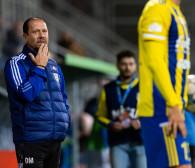 Arka Gdynia przegrała mecz, w którym była lepsza. Dariusz Marzec: Brak szczęścia