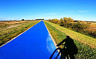 Wiślana Trasa Rowerowa niebieska jak rzeka