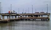 Molo w Brzeźnie bez barierek i balustrad