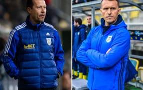 Arka Gdynia. Jak długo pracują trenerzy żółto-niebieskich?