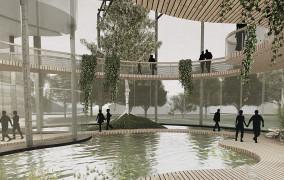 Ogród Botaniczny po rewitalizacji dworku w Kolibkach. Projekt studentki PG