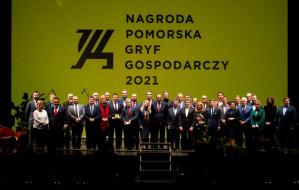 Gryfy Gospodarcze 2021 rozdane. Medialny trafił do firmy Marion z Gdyni
