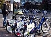Podróż miejskim rowerem za złotówkę
