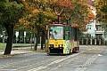 Policjant zlekceważył atak na tramwaj?