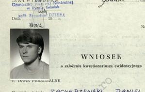 Młodość gangstera: Zachar w dokumentach służb PRL