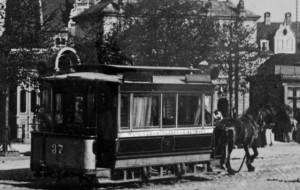 Sanie zamiast tramwajów, czyli  jak to było 138 lat temu