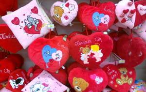 Walentynki. W święto miłości kochają cię także sprzedawcy