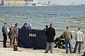 Zwłoki na plaży w Gdyni