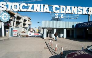 """Lenin """"wiecznie żywy"""" na bramie Stoczni Gdańskiej"""