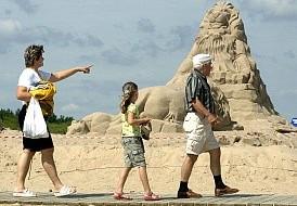 Zabytki na piasku, czyli festiwal rzeźb na plaży