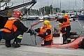 Wyciek paliwa w marinie - strażacy ćwiczyli
