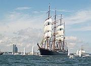 Wielkie żaglowce odpłynęły z Gdyni