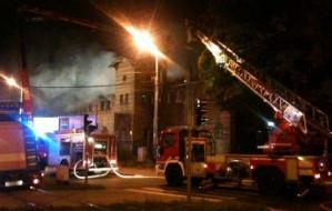 Kolejny pożar zabytkowej zajezdni w Oliwie