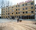 Bursztynowy hotel przy bursztynowym stadionie