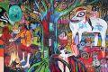 Artystyczni podróżnicy w Zielonej Bramie