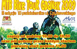 Z Miarczyński w MTB Bike Tour Gdańsk 2009