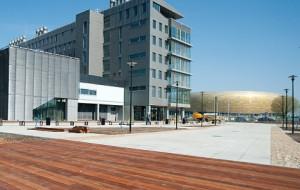 Nowa siedziba targów obok stadionu, czyli AmberExpo już gotowe
