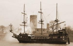 Dziś bitwa morska przy Twierdzy Wisłoujście