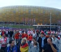 38 869 kibiców na stadionie, 23 tys. w strefie kibica