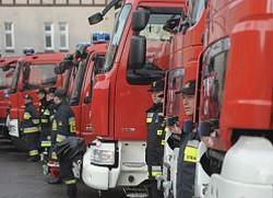 Nowe wozy dla pomorskich strażaków