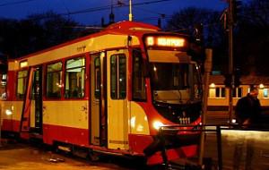 Zderzenie tramwajów we Wrzeszczu