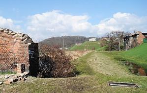 Zabytkowy mur przy gdańskich bastionach: zdewastowany i bezpański?