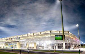 Zobacz postępy w budowie gdyńskiego stadionu piłkarskiego