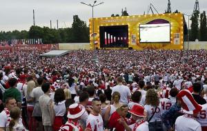 Strefa kibica w Gdańsku oczami pracownika