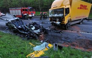 Wypadek na obwodnicy, dwie osoby nie żyją