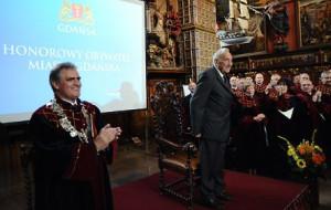 Tadeusz Mazowiecki honorowym obywatelem Gdańska