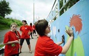 Wolność namalowana na murach