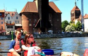 Gdańsk z kajaka: Żuraw i cztery dziewice