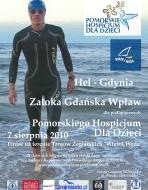Przepłynie wpław Zatokę Gdańską. Dla dzieci
