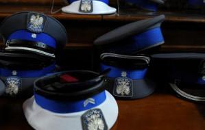 Wielka zadyma w święto policji