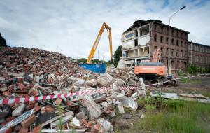 Znika budynek dawnej Wzorcowni