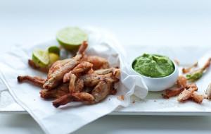 Francuski przysmak: żabie udka i ślimaki