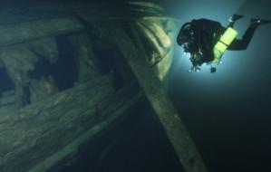 Gdynianin pomógł odnaleźć skarb w Bałtyku