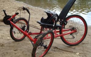 Testy trójkołowego roweru poziomego