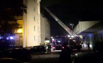 Nocny pożar domu przy ul. Wojska Polskiego...