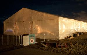 Pogodowe kłopoty festiwalu Transvizualia