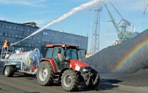 MTMG zabezpiecza hałdy z węglem