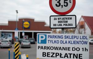Parkowanie przed sklepem może być bardzo drogie
