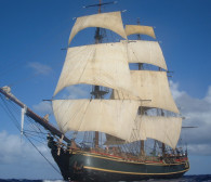 Zatonął HMS Bounty, który rok temu odwiedził Trójmiasto