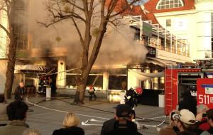 Sopot. Pożar klubu na pl. Zdrojowym