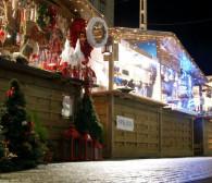 Świąteczne jarmarki - pogoda nie ułatwia handlowania
