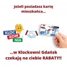 Zniżka na wejście do Klockowni z Gdańską Kartą Mieszkańca!