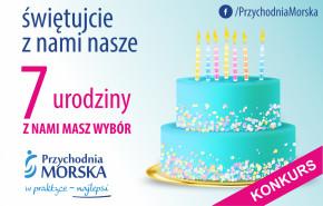 Świętuj z nami nasze 7 urodziny!