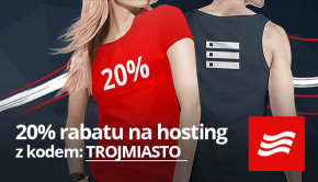 20% rabatu na szybki hosting SSD!