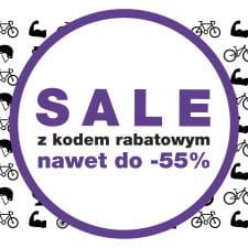 Wyjątkowe zniżki do -55% Bikesalon.pl