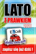 Lato z prawkiem kursy wakacyjne kat.B Elcar Gdynia